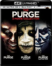 The purge Trilogy 4k Uhd HDR + Bluray 6 Disks The purge/The Purge: Anarchy/The Purge: Election Year Region Free