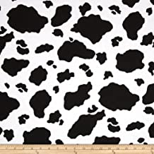 Best cow print material fabric Reviews