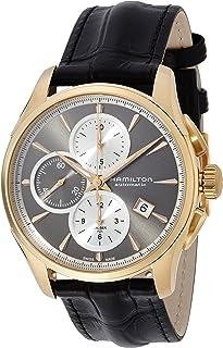Hamilton - H32546781 - Reloj, Correa de Cuero Color Negro