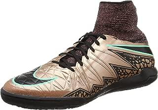 NIKE Mens Hypervenomx Proximo Ic Volt/Black/Black Soccer Shoes