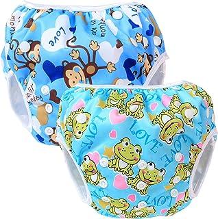 Teamoy Pañal Bañador (2 piezas) Pañal de natar Pantalones