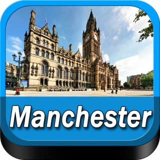 Manchester Offline Map Travel Guide (Kindle Tablet Edition)