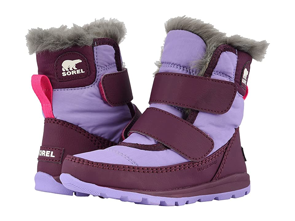 SOREL Kids Whitneytm Strap (Toddler/Little Kid) (Purple Dahlia/Paisley Purple) Girls Shoes