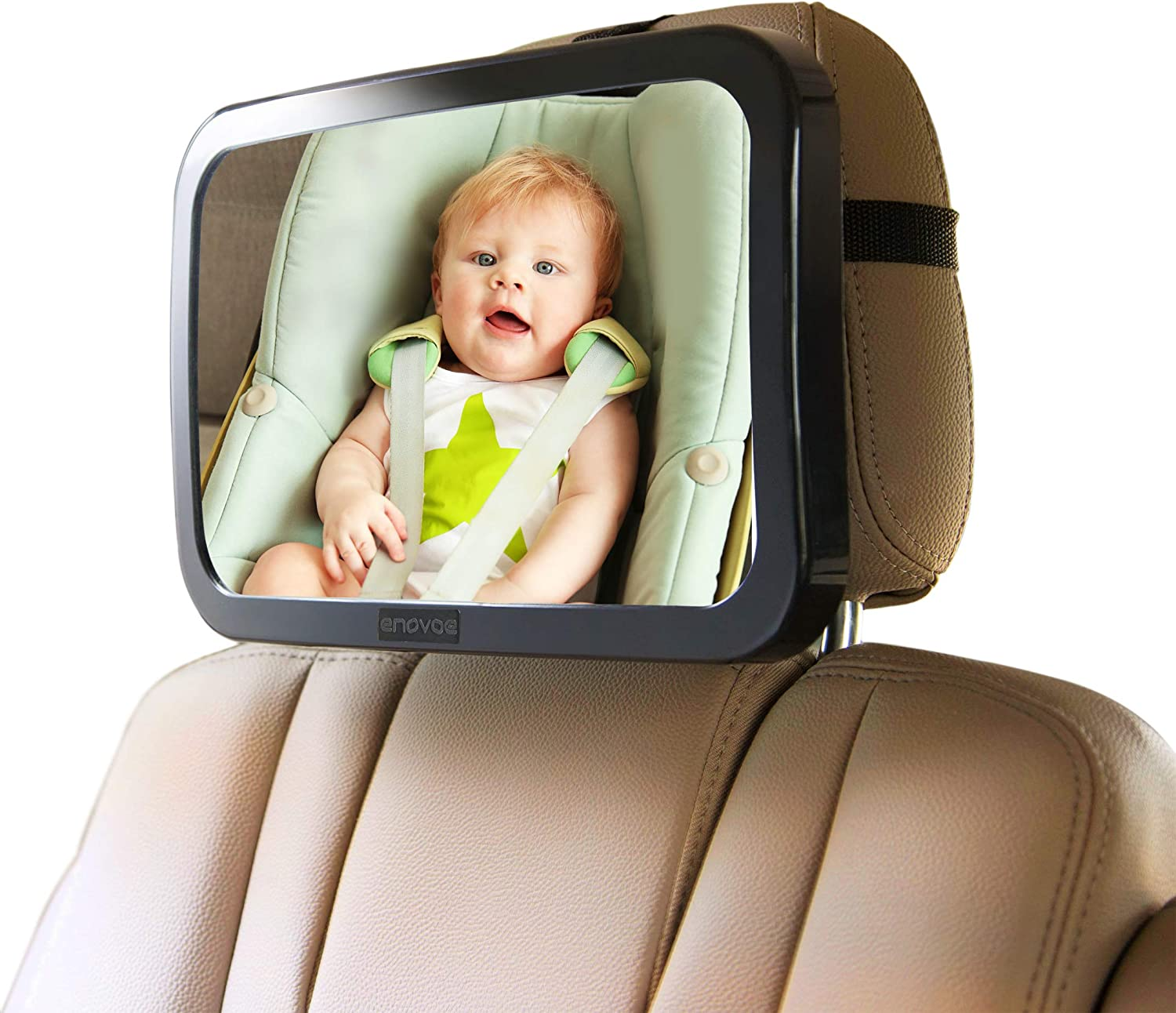 Enovoe Baby Car Mirror Popular product with Cleaning S Credence Convex Back - Wide Cloth