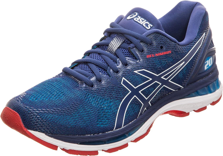 Asics Men's Gel-Nimbus 20 Competition Running Shoes, Blue (Island Blue/White/Black 4101)