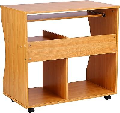 Habitdesign 004604A - Mesa ordenador reversible dos cajones ...