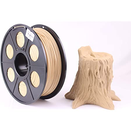 WOL 3D Premium 1.75mm Wood 3D Filament