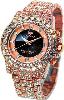 [ジョン・ハリソン]J.harrison 腕時計ソーラー電波シャーニング紳士用 JH-025PB メンズ 【正規輸入品】