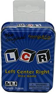 George & Company LLC Dice Game - Blue Tin