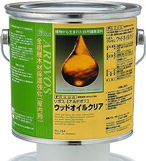 リボス 自然健康塗料 アルドボス(木部用塗料) クリア 2.5L