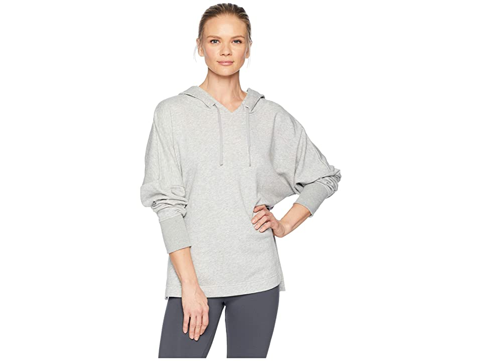 Reebok French Terry Tunic (Medium Grey Heather) Women