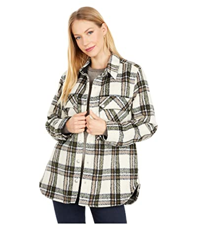 Blank NYC Oversized Flannel Shirt Jacket (Outsider) Women