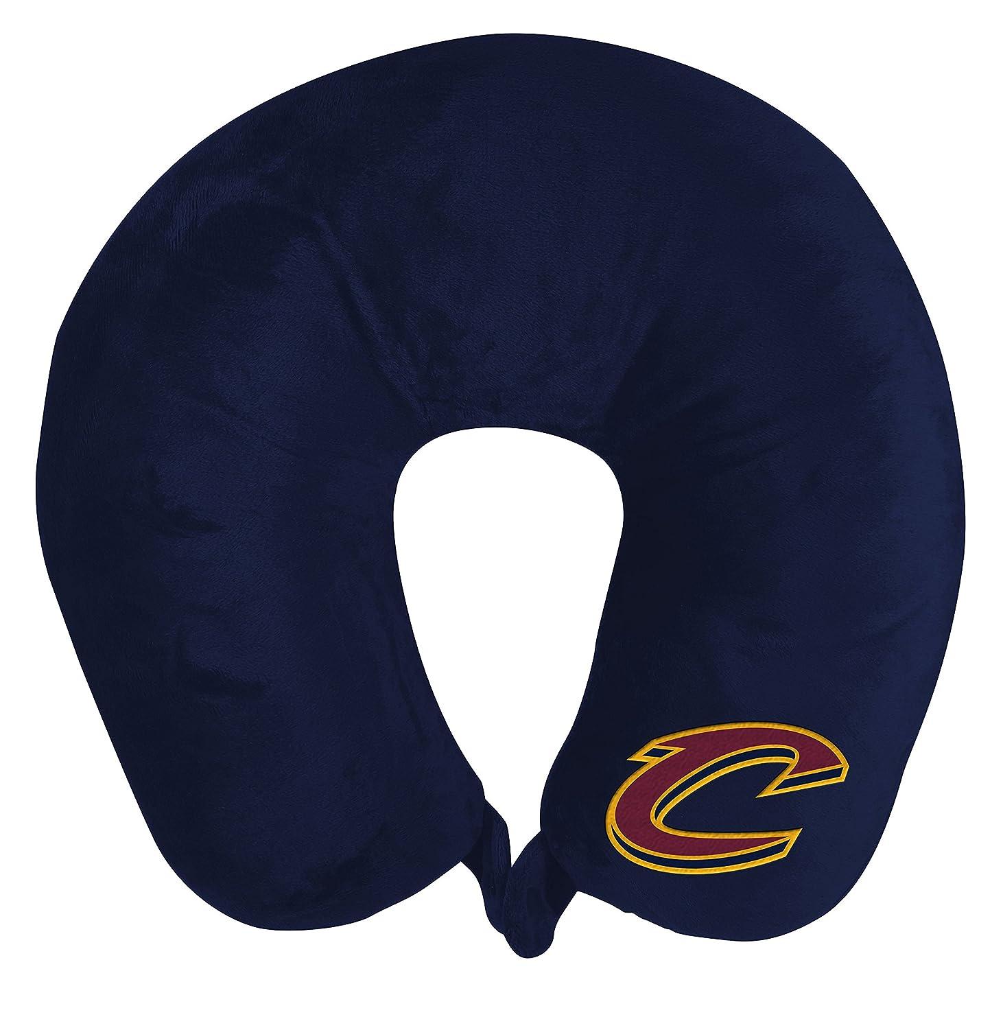 静かなメカニック人The Northwest会社NBA Cleveland Cavaliersアップリケネックpillowapplique首枕、ブルー、1サイズ