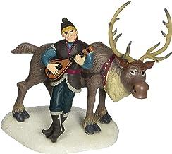 Department 56 Disney Frozen Village Kristoff Serenading Sven Accessory Figurine