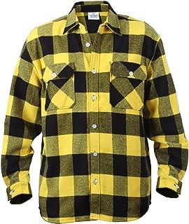 Extra Heavyweight Buffalo Plaid Flannel Shirts