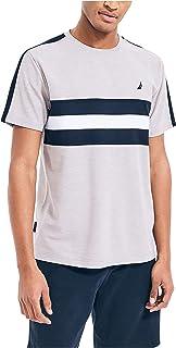Nautica Men's Navtech Chest Stripe T-Shirt