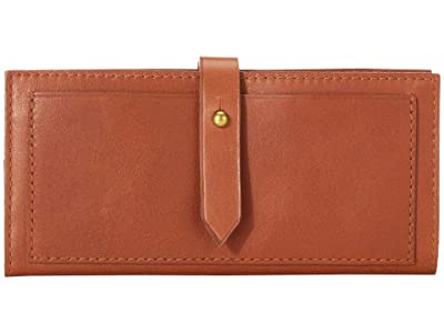 Madewell Post Wallet (English Saddle) Handbags