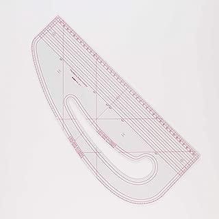 DIHAN #9511 transplant drawing Mold Ruler,seam allowance French curve Ruler vary form plastic Tailor fashion design ruler, pattern making ruler, tailoring ruler, garment ruler, sewing ruler,cutting ru
