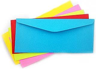 #10 Multi Color Envelope Pack Envelope-Assorted Colors Envelopes-50 Pck (Multi Color)