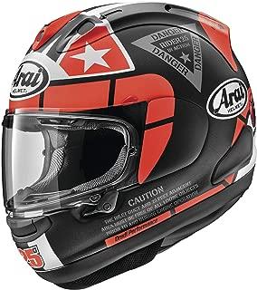 Arai Helmets Corsair-X Vinales-3 Helmet (Red, Large)