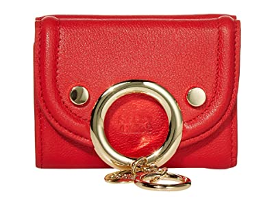 See by Chloe Mara Compact Wallet (Radiant Red) Handbags