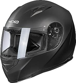 Windschutz Sonnenblende XS-XL Polster herausnehmbar und waschbar Nexo Motocross Helm Motorradhelm Cross Helm Enduro Helm MX-Line Fiberglas Endurohelm Ratschenverschluss