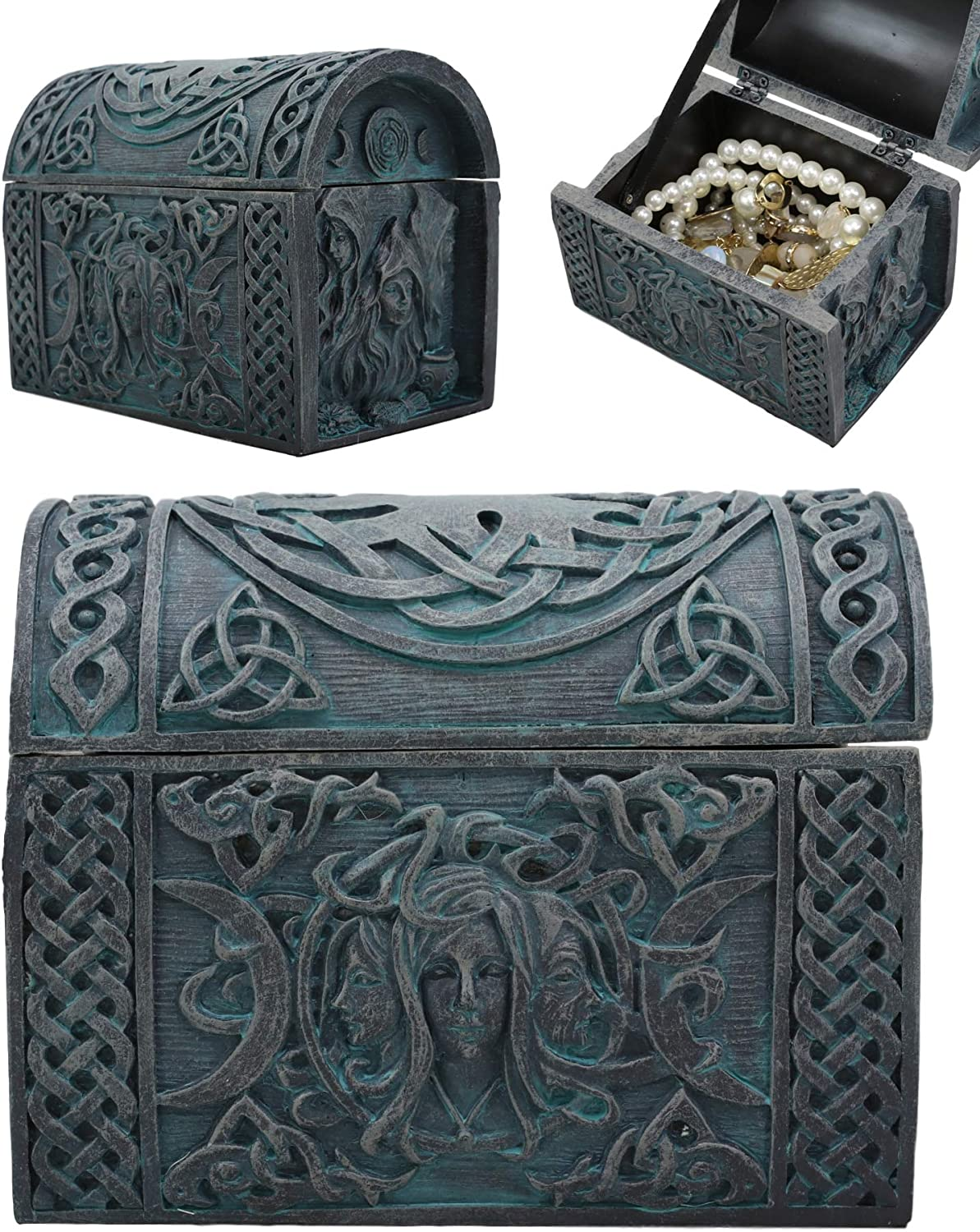 Ebros Celtic Triple Goddess Mother Crone Decorative Jewel Colorado Challenge the lowest price of Japan ☆ Springs Mall Maiden