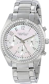 Caravelle New York Women's 43L159 Analog White Dress Watch