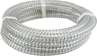 clear wire reinforced hose