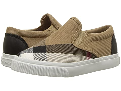 Burberry Kids Linus Check Trainer (Toddler)
