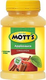Mott's Cinnamon Applesauce, 24 Ounce Jar (Pack of 12)