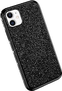 YSIMEE Compatibile Cover iPhone 11 Custodie Mirror Gel Brillantini
