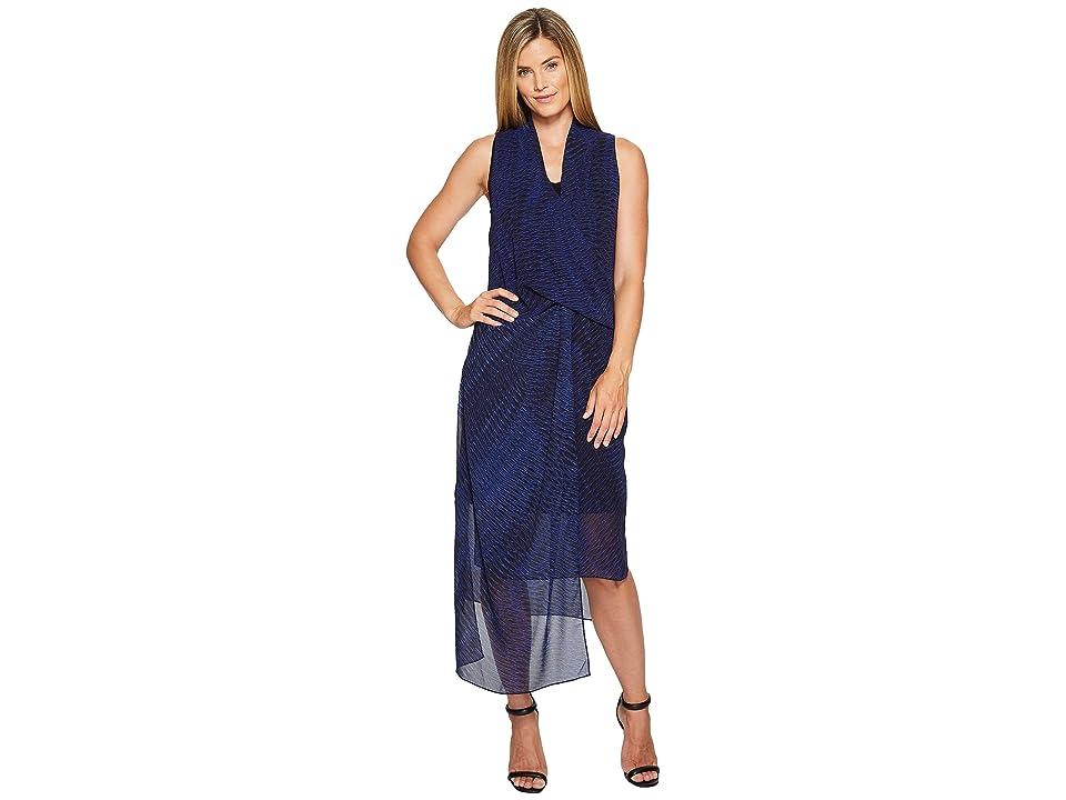 NIC+ZOE Blue Streaks Dress (Blue Roma) Women