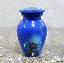 eSplanade Cremation urn Memorial Container Jar Pot | Metal Urns | Burial Urns | Memorial Keepsake