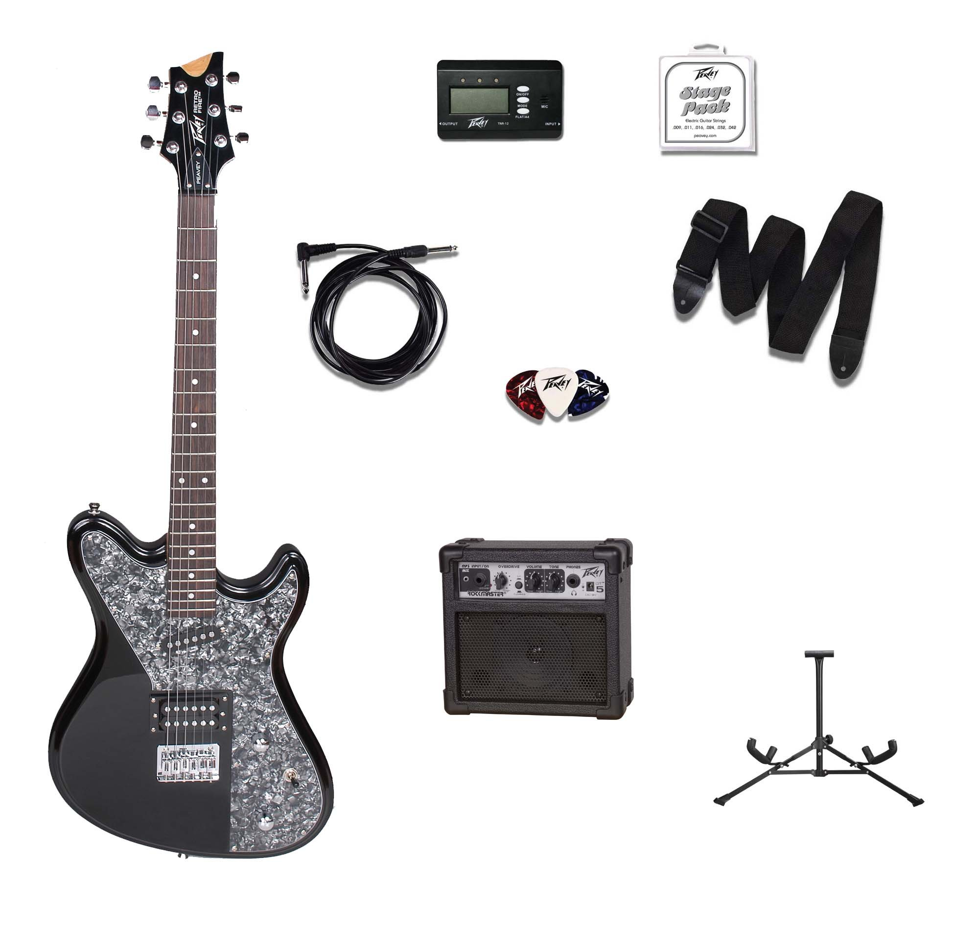 Cheap Peavey Electronics 03005210 Retro Fire Limited Black with GT5 for Electric Guitar Black Friday & Cyber Monday 2019