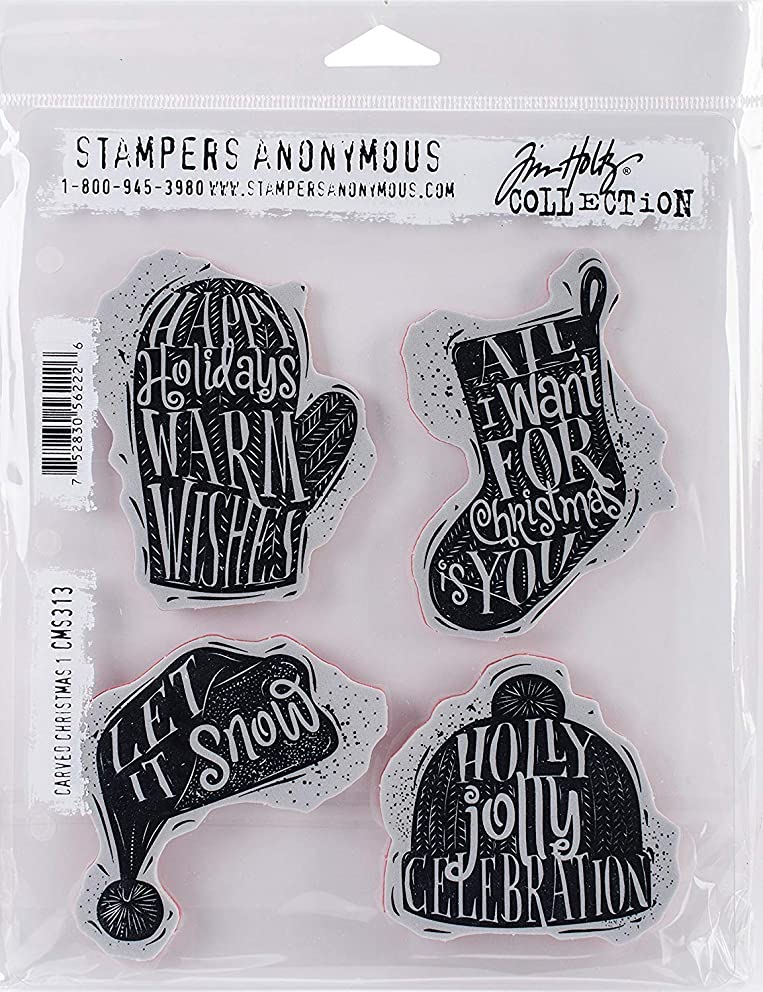 Stampers Anonymous CMS313 Tim Holtz Cling Stamps 7