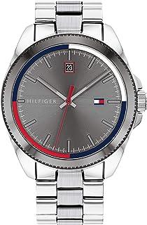 Tommy Hilfiger Reloj Analógico para Hombre de Cuarzo con Correa en Acero Inoxidable 1791684