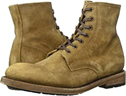 Faded Brown Distressed Suede