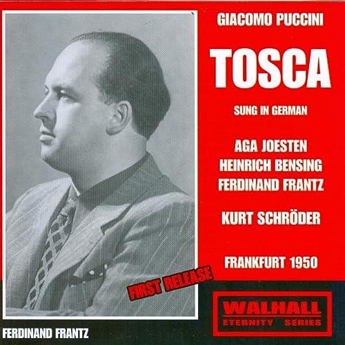 Giacomo Puccini : Tosca (Frankfurt 1950)