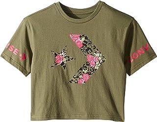 50be1b4faff247 Converse Kids Womens Print Fill Star Chevron Tee (Big Kids)