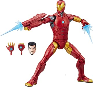 Marvel Black Panther Legends Series Iron Man, 6-inch