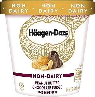 Haagen-Dazs Non-Dairy Peanut Butter Chocolate Fudge Frozen Dessert, 14 oz.