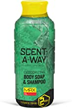 Hunters Specialties Scent-A-Way MAX 32oz Liquid Body Soap & Shampoo, Green, 32 oz
