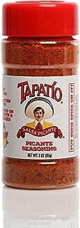TAPATIO Picante Seasoning │Keto Vegan Paleo Friendly │ Best Michelada Rim Spice │ Gluten Free Single Shaker Bottle (3 oz)