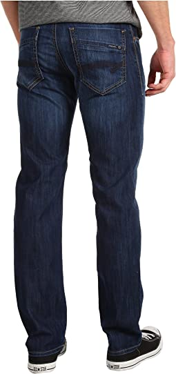 Mavi Jeans Zach Regular Rise Straight Leg in Dark Maui