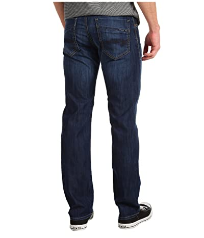 Mavi Jeans Zach Regular Rise Straight Leg in Dark Maui (Dark Maui) Men