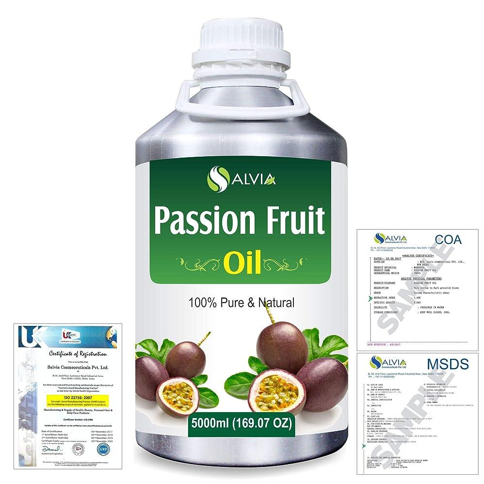 ささやき悪因子体操選手Passion Fruit (Maracuja) Natural Pure Undiluted Uncut Carrier Oil 5000ml/169 fl.oz.