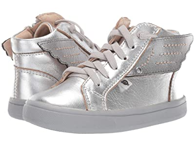 Old Soles Local Wings (Toddler/Little Kid) (Silver/Rich Silver) Girl