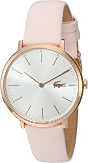 Lacoste Reloj de Moda Mujer, color Plata, 35 mm