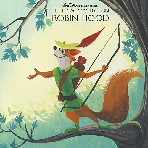 Walt Disney Records The Legacy Collection Robin Hood By Various
